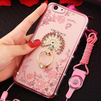 For OPPO F1S Soft Phonecase Fashion Phone Case Cover Casing With Ring Holder - intl