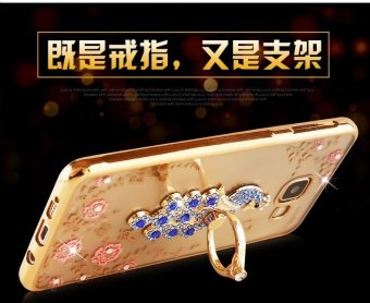 For Samsung Galaxy A7 2017 Soft Phonecase Lady Phone Case Cover Casing With Ring Holder - intl - 5