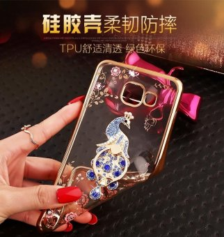 For Samsung Galaxy A7 2017 Soft Phonecase Lady Phone Case Cover Casing With Ring Holder - intl - 4