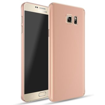 For Samsung Galaxy Note 5 Full Body Hard PC Smooth Grip Back CaseCover (Rose Gold) - intl