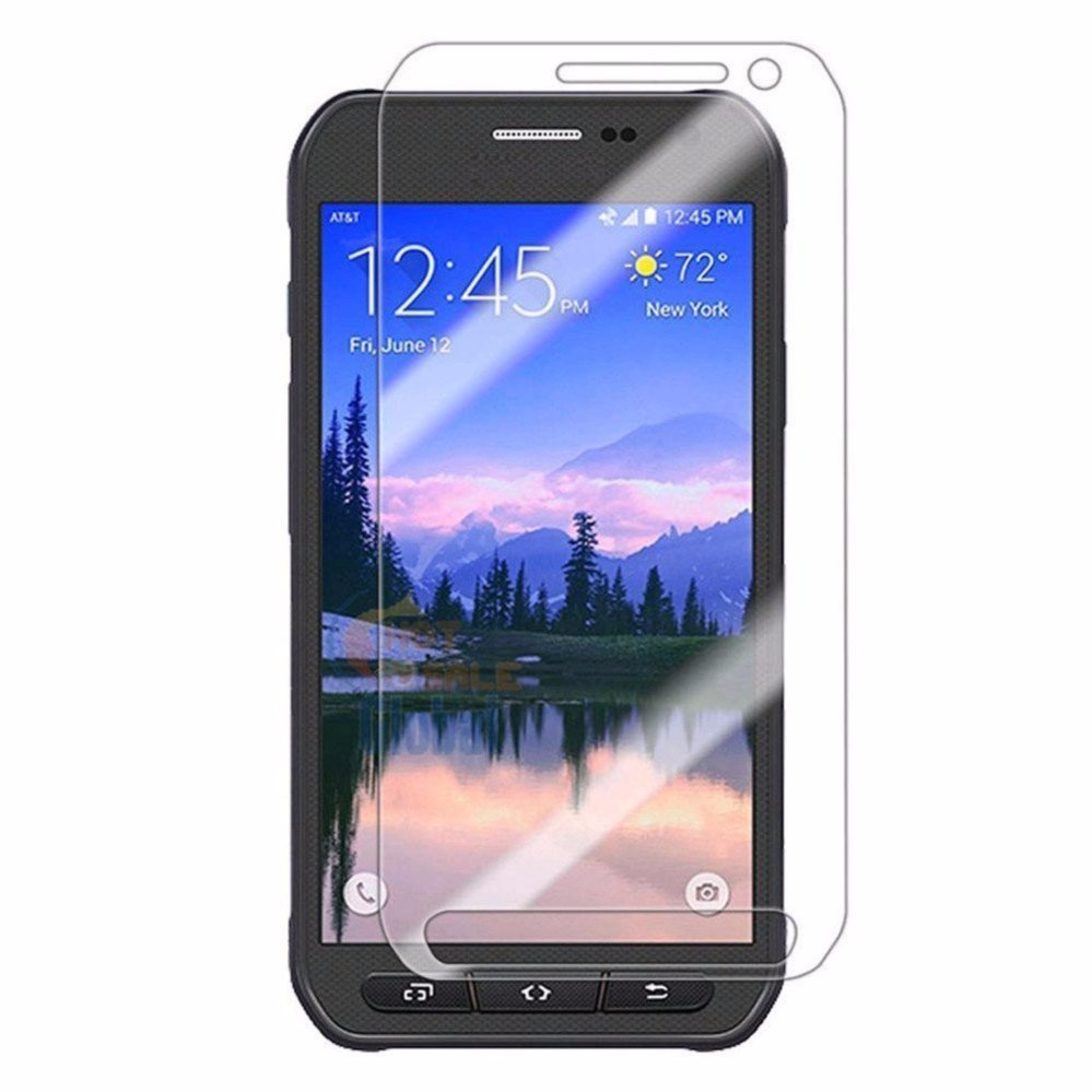 for Samsung Galaxy S6 Active Tempered Glass Film Ultra Thin Screen Protector Guard HD Explosion-