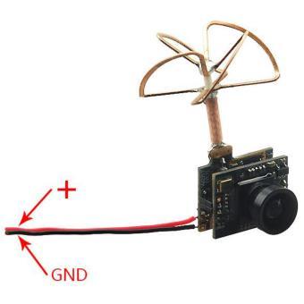 FPV Combo 3 in 1 600TVL Mini Camera 5.8GHz 40CH 25Mw  Kamera Miniuntuk Drone