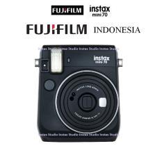 Fujifilm Kamera Instax Mini 70 Camera Polaroid Garansi Resmi Fujifilm Indonesia - Hitam