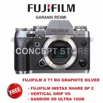 FUJIFILM X-T1 BO GRAPHITE SILVER / X T1