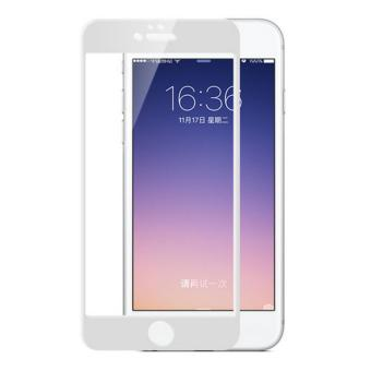 Full Cover Colour Tempered Glass Screen Protector for Apple iPhone 6 / 6s - White