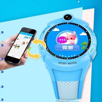 Detail Gambar Produk G610 Children Kids IPS Screen SIM GPS Phone Camera Smart Watch For Android iOS - intl Terbaru