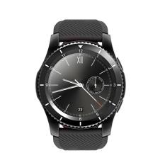 G8 Round Layar Bluetooth Smart Arloji Ponsel Heart Rate Monitor (Hitam)-Intl
