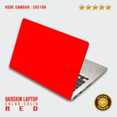 Garskin / Skin/ Sticker / Cover / Stiker Laptop - Solid Red