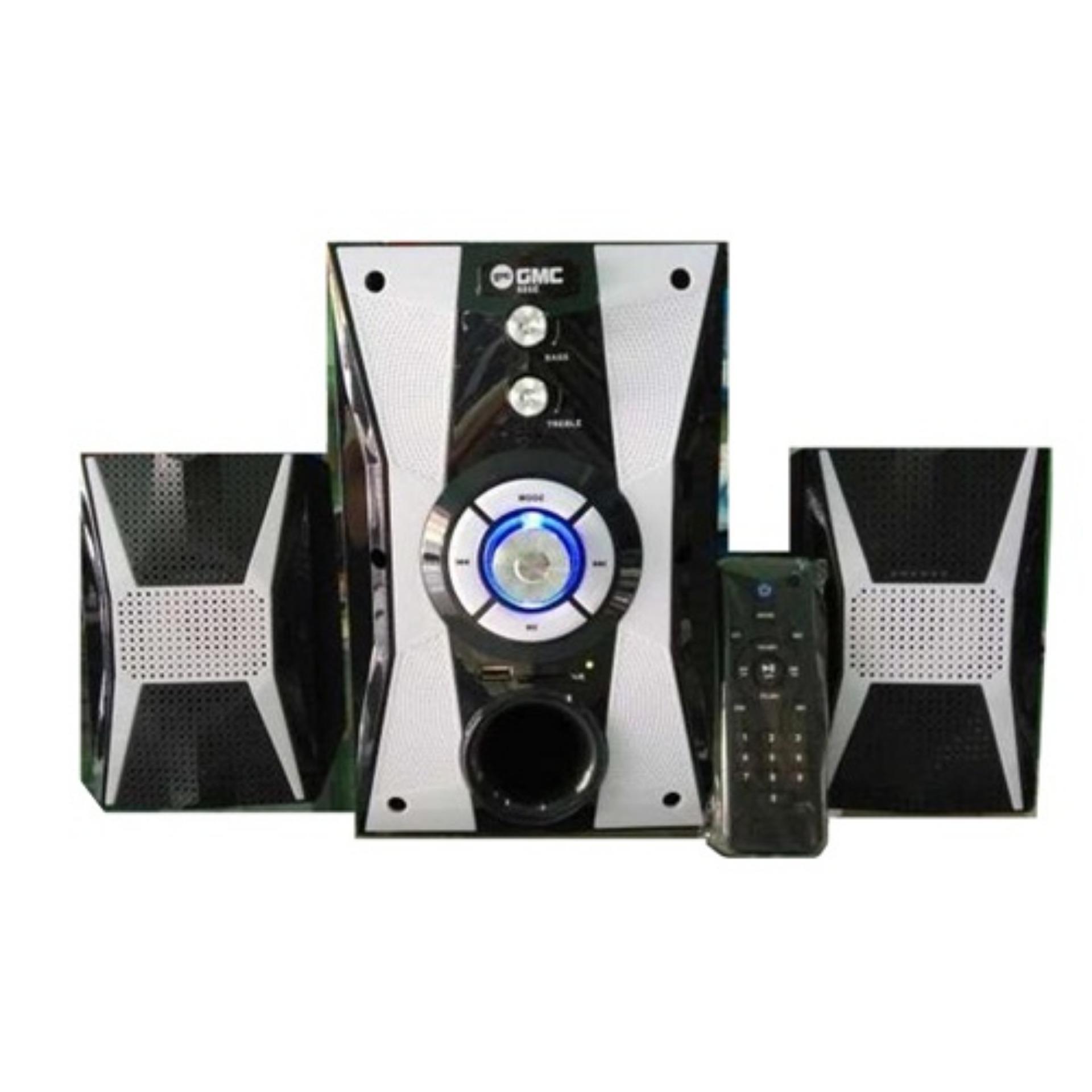 ... GMC 886E Speaker Multimedia Bluetooth (Garansi Resmi GMC) Putih ...