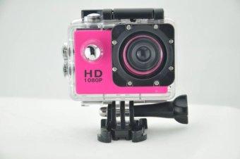Jual Goodpa Outdoor Sport Mini Camera 1080p Full Hd Dv Sport Actioncamera Bike Helmet Video Cam 30m Go Waterproof Pro Case Retail Boxg20b Full Set Of Accessories Pink - Intl Murah