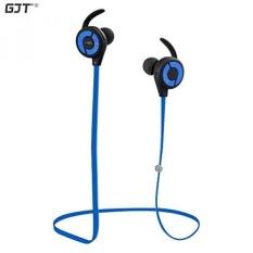 Earphone Di Telinga Headphone Olahraga Earbud Dengan Mikrofon Biru International Niceeshop Wireless Bluetooth Headset Bluetooth Keringat