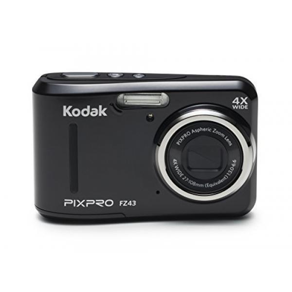 "GPL/ Kodak PIXPRO Friendly Zoom FZ43 16 MP Digital Camera with 4X Optical Zoom and 2.7"" LCD Screen (Black)/ship from USA - intl"