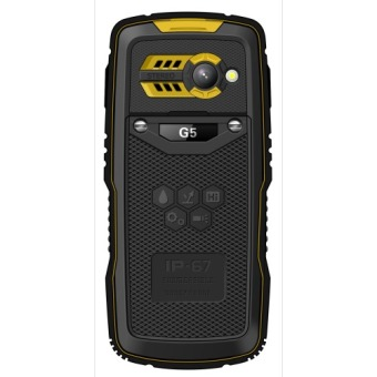 Gplus G5 The Amphibi Outdoor Waterproof IP67 - Kuning - 2