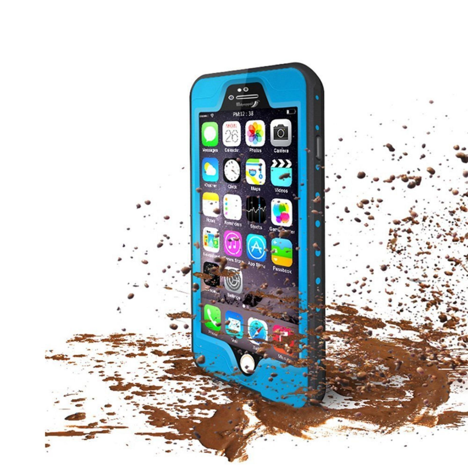 Green Song iPhone 6S Waterproof Case [FingerPrint ID Compatible] Slim Full .