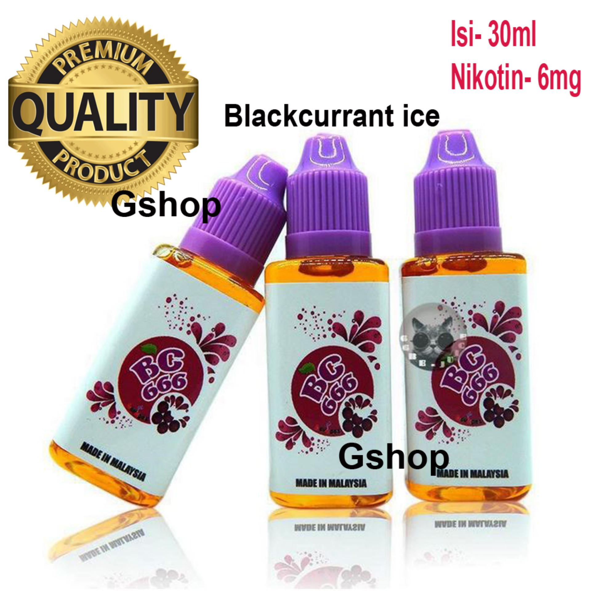 Gshop Premium E-Liquids 30ml (BV 666) 6mg Nicotine for ElectronicCigarettes