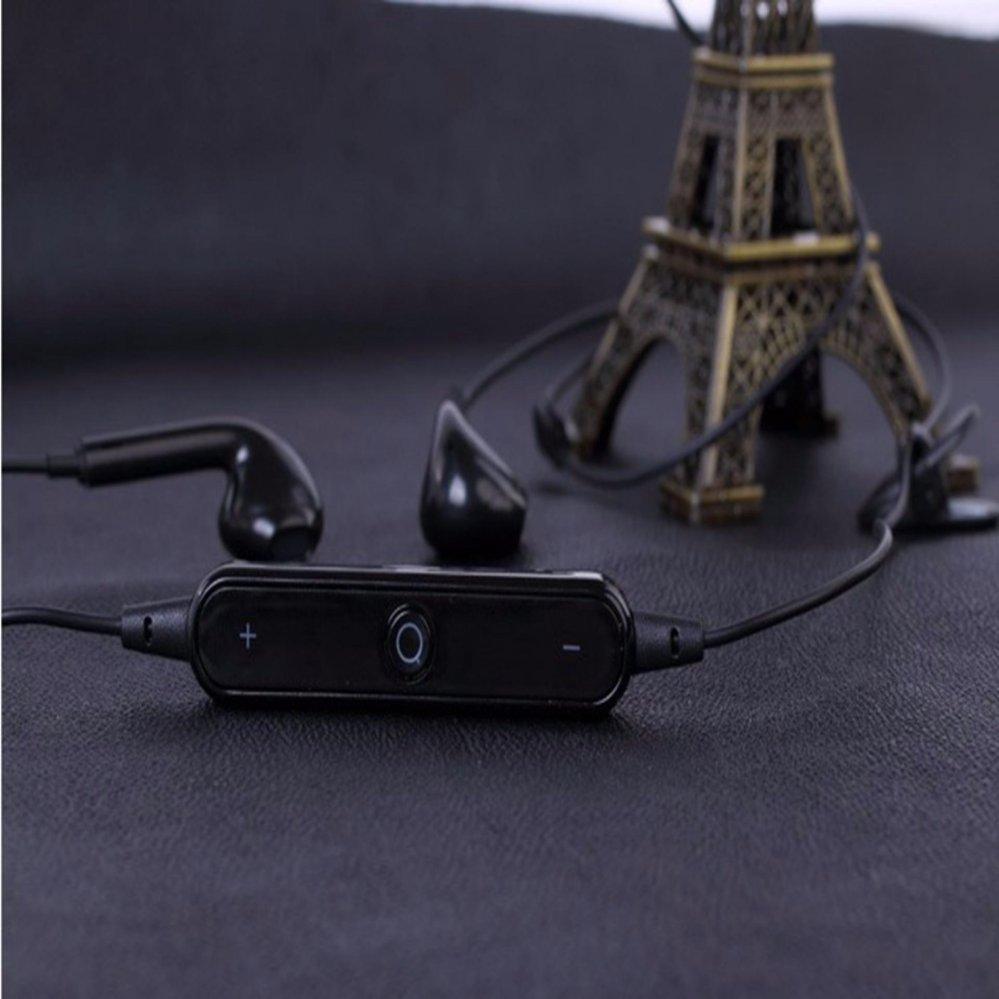 Hanyu S6 Neck Hanging Type Bluetooth 4.1 Sports Headset StereoHeadphone Intelligent Noise Reduction .