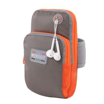 Hanyu Universal telepon Armband Case tas olahraga Fitness Jogging lari lengan Band L tas Pouch (