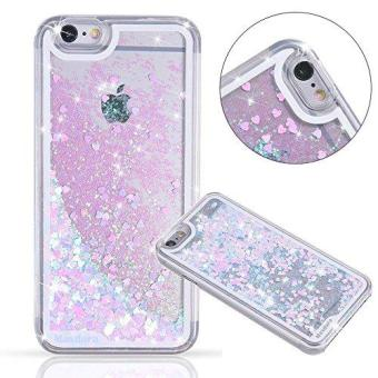 Hard Case Flowing Liquid Floating Luxury Bling Glitter Sparkle Case Cover Fashion Creative Design for Girls