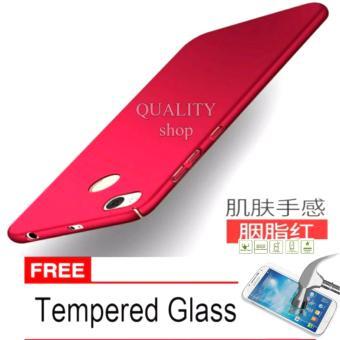 Hard Case for Xiaomi Redmi 4X + Free Tempered Glass