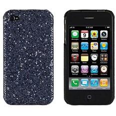 Hard Sparkles Case For Apple Iphone 4 4S (AtT Verizon Sprint) - Black - intl