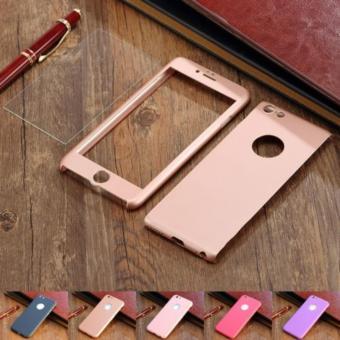 Detail Gambar Hardcase 360 Iphone 6/6s Fullset Free Tempered Glass Case Full Body Terbaru
