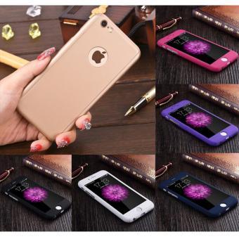 ... Hardcase 360 Iphone 6 6s Fullset Free Tempered Glass Case Full Body 2