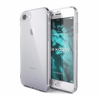 Hardcase Case 360 Iphone 6+/6 Plus Casing Full Body Cover - Clear(Bening) + Free Tempered Glass