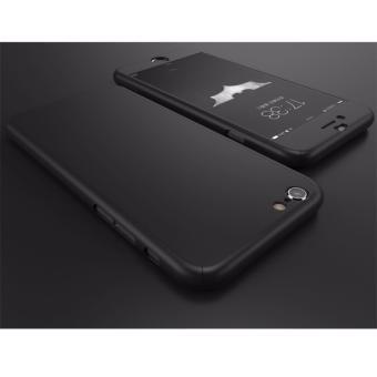 Hardcase Case 360 Iphone 6+ / 6S Plus TANPA BOLONGAN Logo AppleCasing Full Body Cover