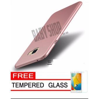 Hardcase Case For Samsung Galaxy S7 EDGE Ultra Slim Shockproof Premium Matte elegan Tamper Glass