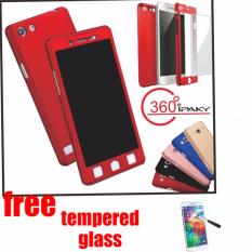 Hardcase Case Oppo Neo 7 Full Body 360 Free Tempered Glass