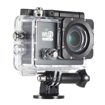harga HD penuh Wifi kamera DV Cam Olahraga aksi 2.0 inci LCD 12megapiksel 1080P 30FPS 4 x meningkat 140 derajat lensa lebar tahanair untuk mobil DVR FPV kamera PC Sepeda Selam aktivitas luarruangan Lazada.co.id