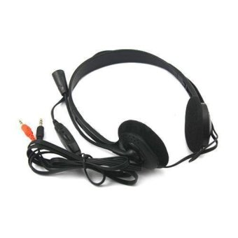 Headphone Stereo Headphone Headset Dan Mikrofon Untuk Komputer PC