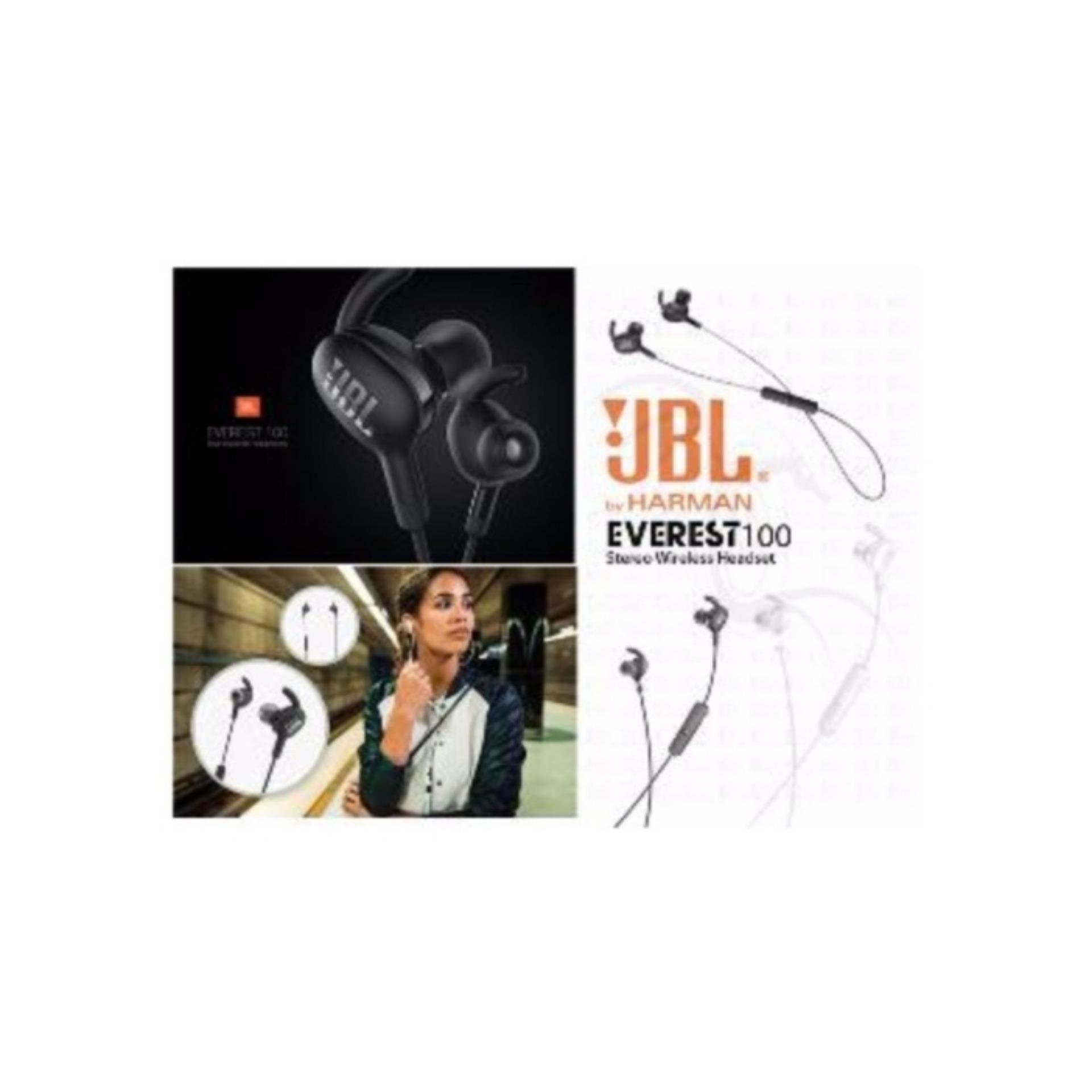 Headset Jbl Wireless Everest 100 Ultimate Stereo Bass Hitam Daftar In Ear Headphone