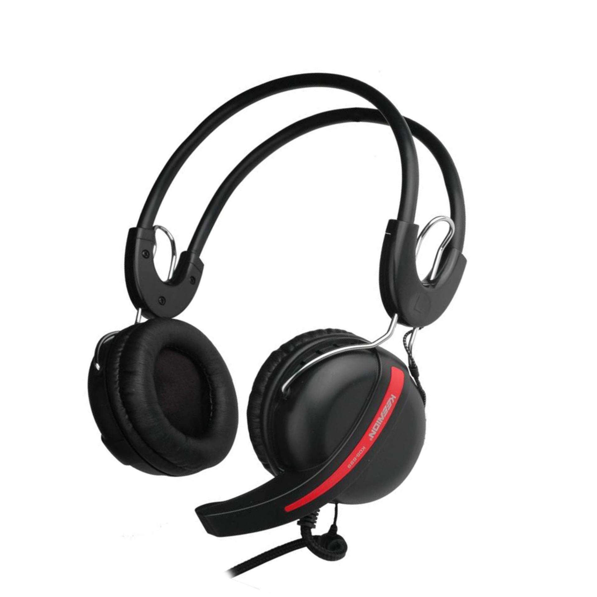 Keenion Headset Kos 699 Hitam Daftar Update Harga Terbaru Dan 803 Headphone Original Blue