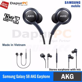 HF Samsung s8 + plus design by AKG Original Handsfree EarphoneHeadset