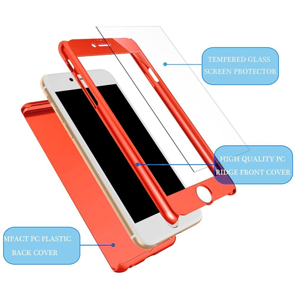 ... Hicase Full-Body Case Shockproof PC Matte Finish Slim Cover 2 in 1 Full Coverage ...