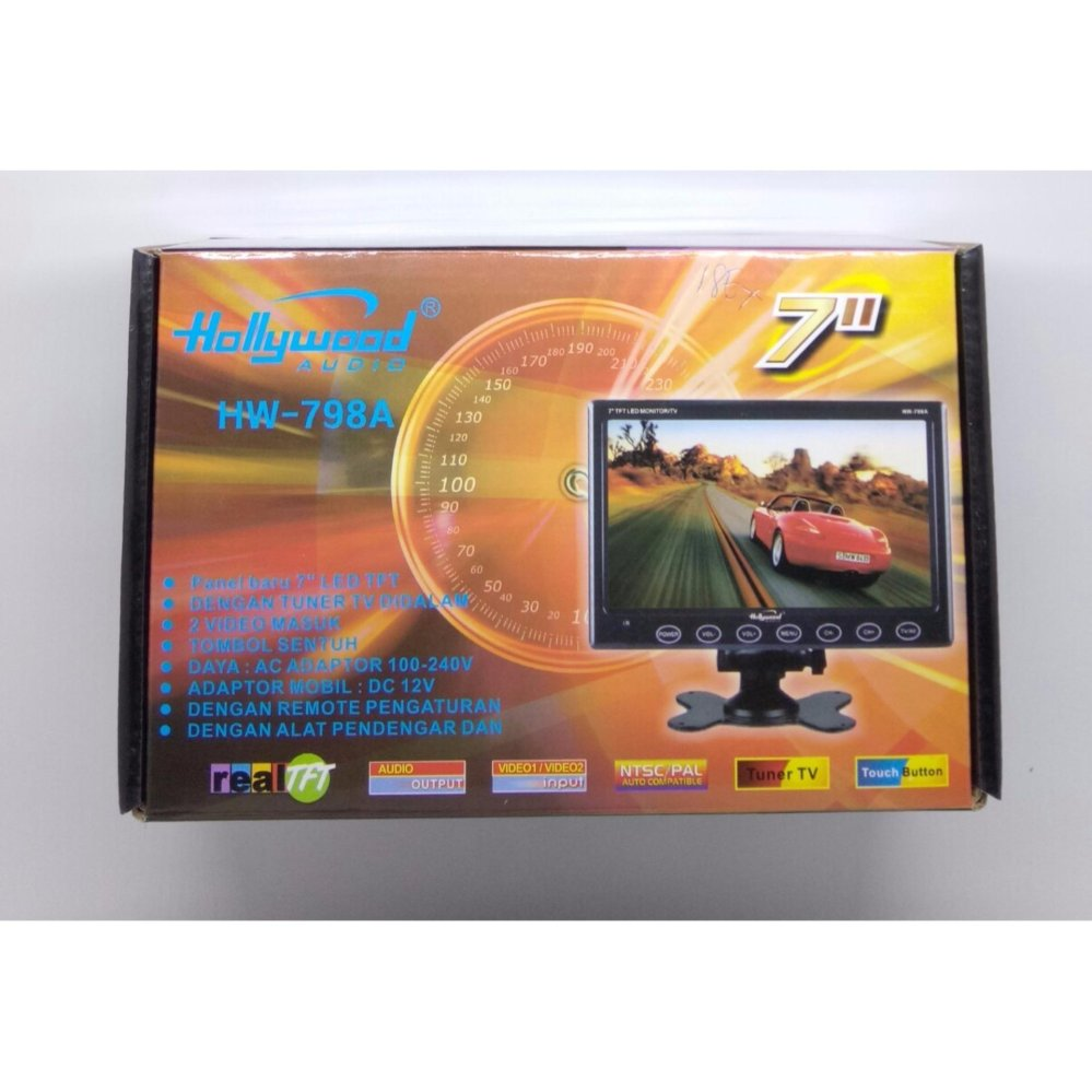 Hollywood HW798A Tv/Monitor [7 Inch] .