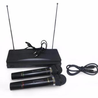 Homic Microphone Double Wireless HM-306 - 2