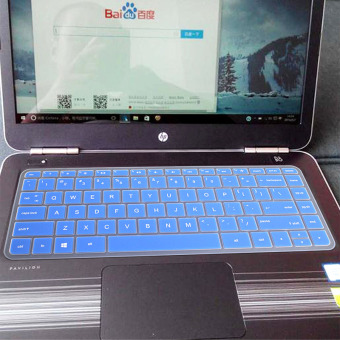 Gambar Hp 14 am004 al125 l142tx keyboard laptop film pelindung