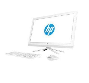 "HP 24-G027L AIO PC - RAM 4GB - Intel Core i5 - 23.8"" - Putih"