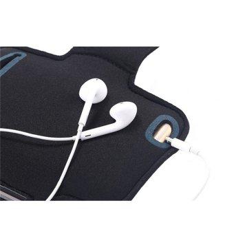 ... HP ponsel tahan air ban lengan olahraga lari Case pelindung pemegang sabuk tas GYM Band untuk