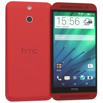 HTC One E8 Dual Sim - 16GB - Merah