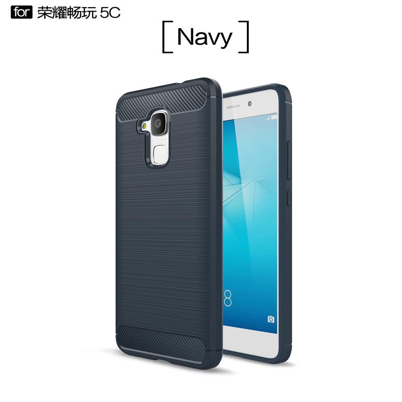 Huawei 5c/X5/C5 handphone set silikon shell pelindung