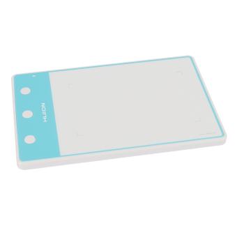 ... Huion H420 Osu Tablet grafis gambar Signature Pad dengan 3 kunci Express putih - 4 ...