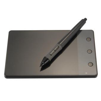 Huion H420 USB seni grafis papan tulis gambar tablet 4 inci x 2.3inci + pena