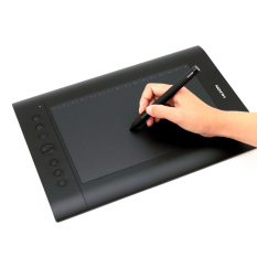 Huion H610 Pro Tablet Grafis Digitizer (Hitam)