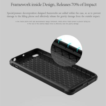 Hunter Cocose Drop Resistance Armor Carved Dragon Silikon Back Case For Xiaomi Redmi 3 - Black - 4