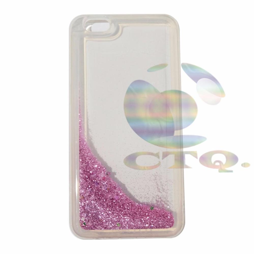 Icantiq Case Oppo F1S Selfie Expert A59 Softcase Water Glitter SoftBack Case /