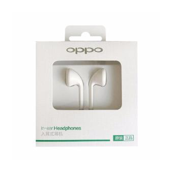 Harga Handsfree / Headset / Earphone Oppo Model R9 / F1 Original OEM