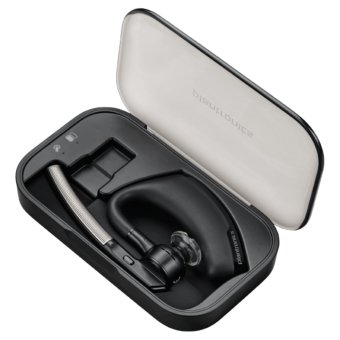 Harga Plantronics Mobile Wireless Headset Bluetooth Voyager Legend With Charging Case - Black